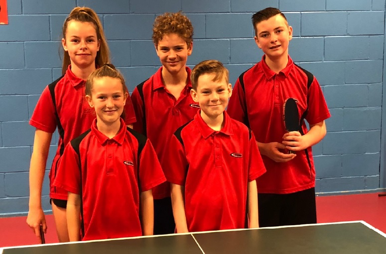 Hampshire Table Tennis County U15 Team County Championships 2018-19