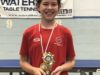 Abbotswood School Table Tennis Player of the Year